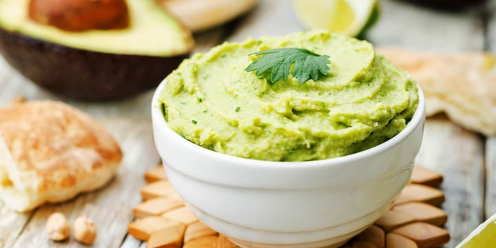Rezept: Power-Dip aus Guacamole & Kichererbsen