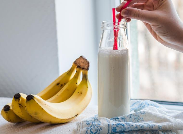 Bananenmilch Rezept