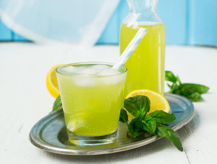 Rezept Basilikum - Limonade selbstgemacht: Der Frische-Kick