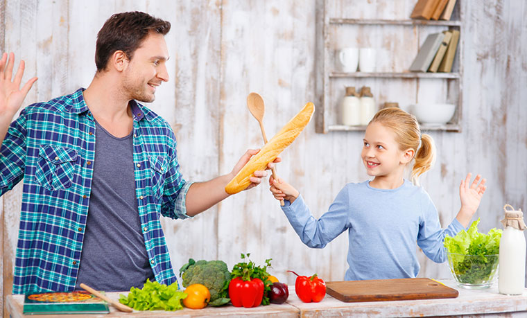 Bio Essen ist gesund und schmeckt gut