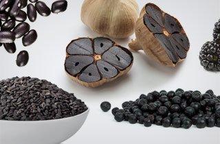 Jetzt wird's schwarz - Black Food ist das neue Superfood