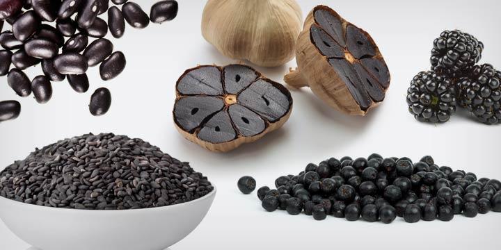 Black Food ist das neue Superfood: Kennen Sie diese schwarze Lebensmittel?