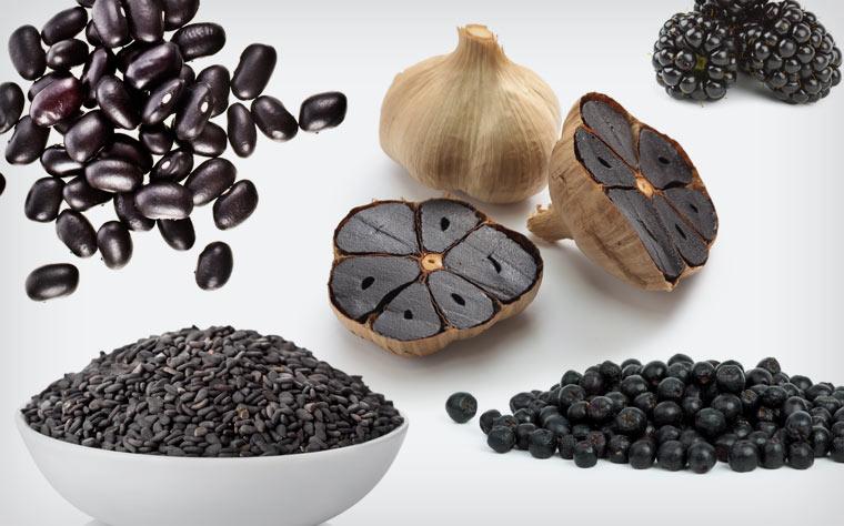 Black Food - schwarze Lebensmittel sind das neue Superfood