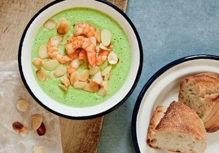 Gesund essen: Brokkoli ist gesund und Rezept für Cremesuppe