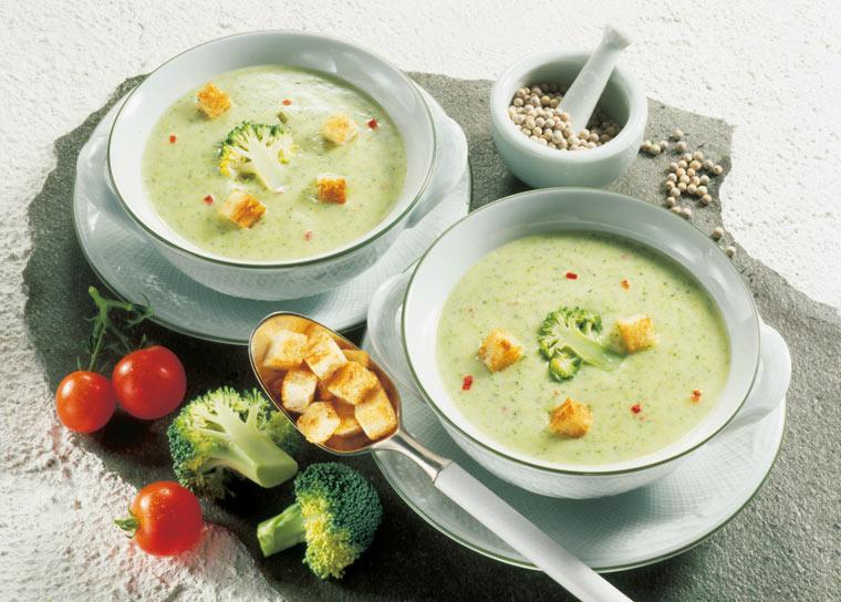 Brokkoli-Creme-Suppe Rezept