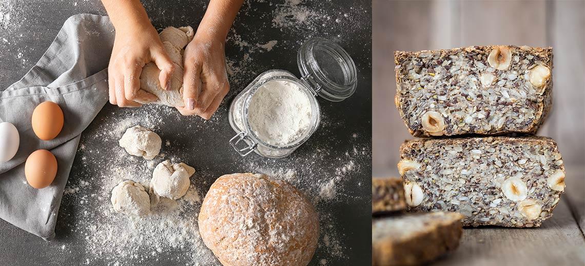 Brot ohne Hefe selber backen  5 Rezepte ohne Hefe