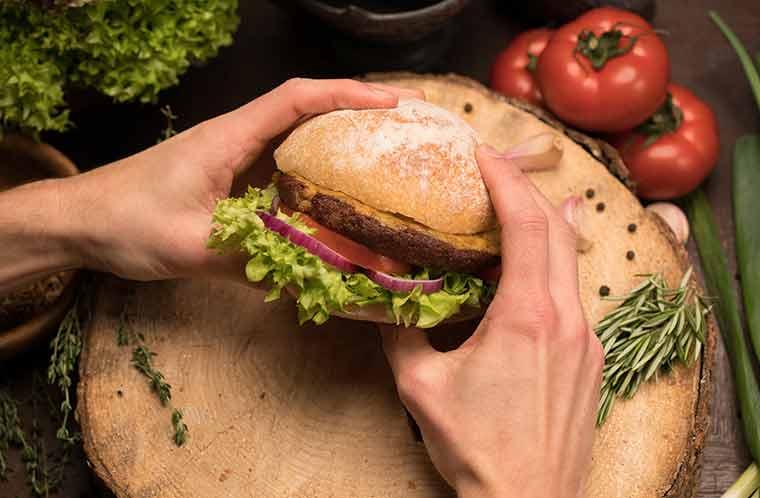 Bux Burger - Insekten als Fleischersatz