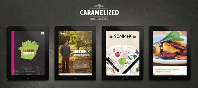 Caramelized: App zum Kochen auch mit Tim Mälzers Greenbox