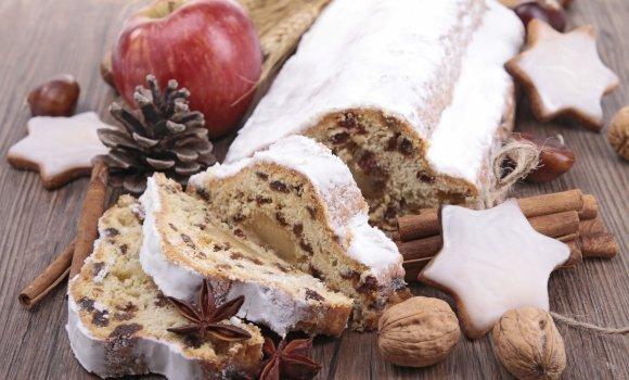 Einmaliger Genuss: Christstollen, der Weihnachtskuchen mit Geschichte