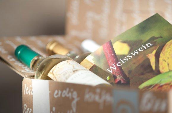 Eine Bio-Weinprobe direkt zu Ihnen nach Hause