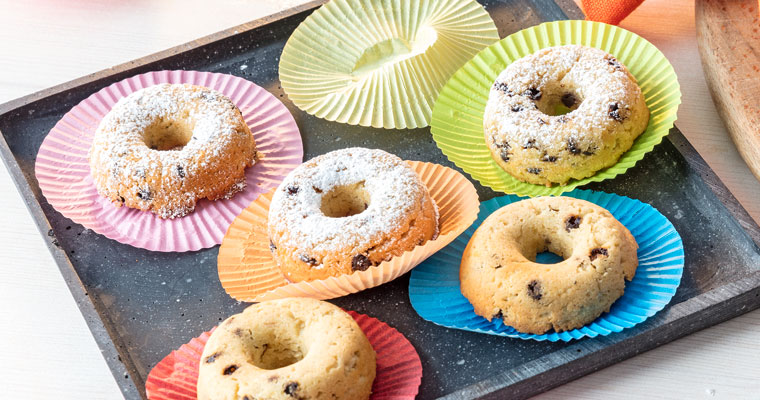 Auf Donuts und Muffins muss man selbst bei einer Diät nicht verzichten