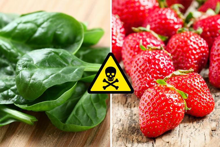 Das dreckige Dutzend 2017 - Diese Lebensmittel sind besonders stark mit Glyphosat belastet