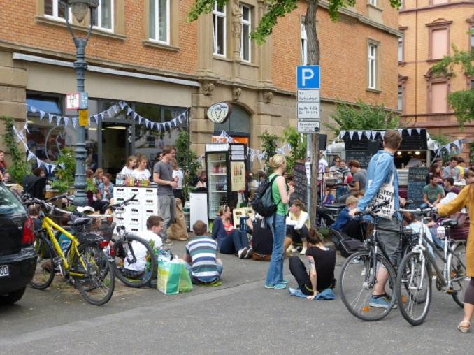 Das Eco Café Möhren Milieu in der Mainzer Neustadt