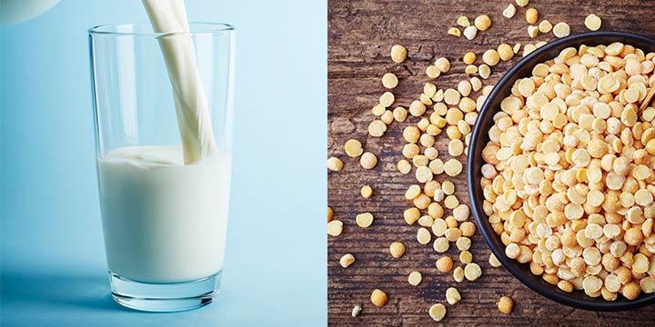 Erbsenprotein und Erbsenmilch: Wissenswertes über die vegane Alternative