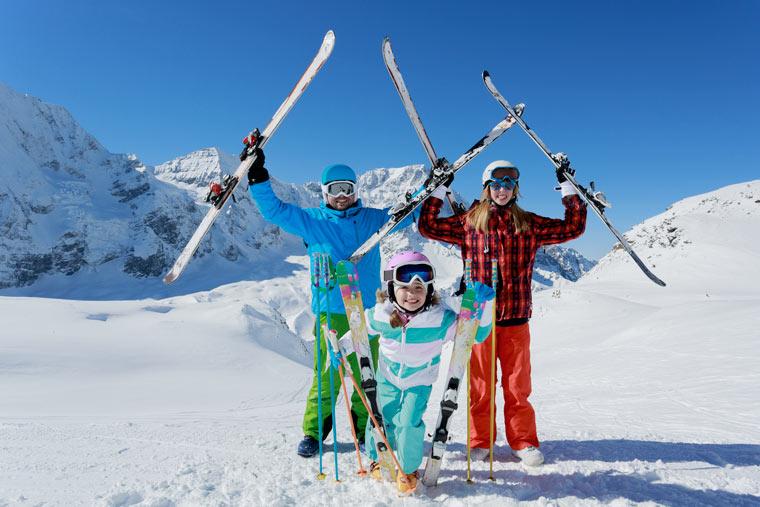 Winterurlaub mit der ganzen Familie