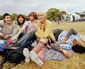 Spaß auf dem Festival © A J James/Photodisc/Thinkstock