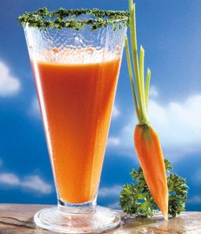 Karotte und Honig machen fit und gesund