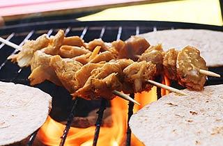 Fleischersatz vom Grill