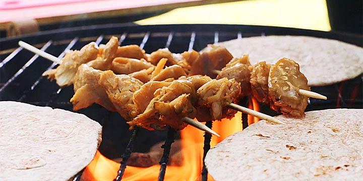 Fleischersatz vom Grill kreativ zubereiten
