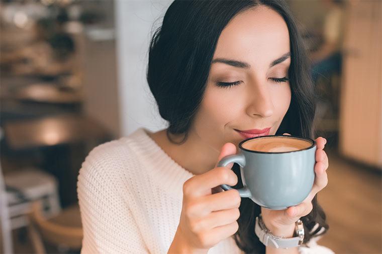Kaffeeliebhaberin