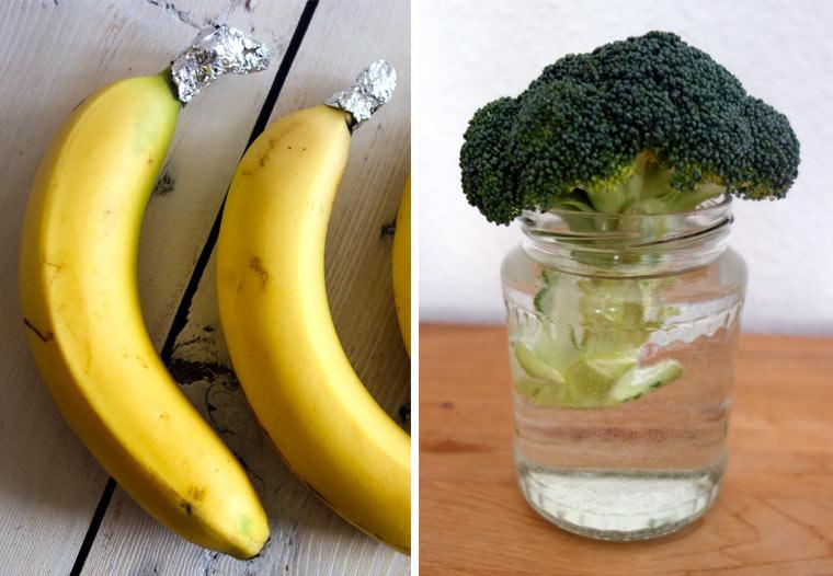 12 Tricks für frisches Obst und Gemüse