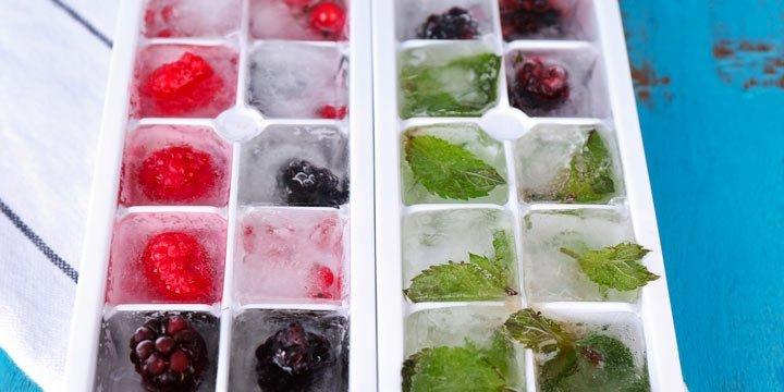 Kreative Eiswürfel für deinen Sommerdrink
