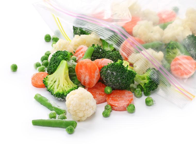 Gemüse einfrieren