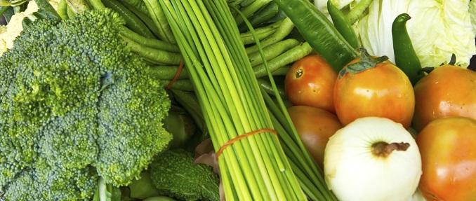 Gemüse Biospitzenkoch