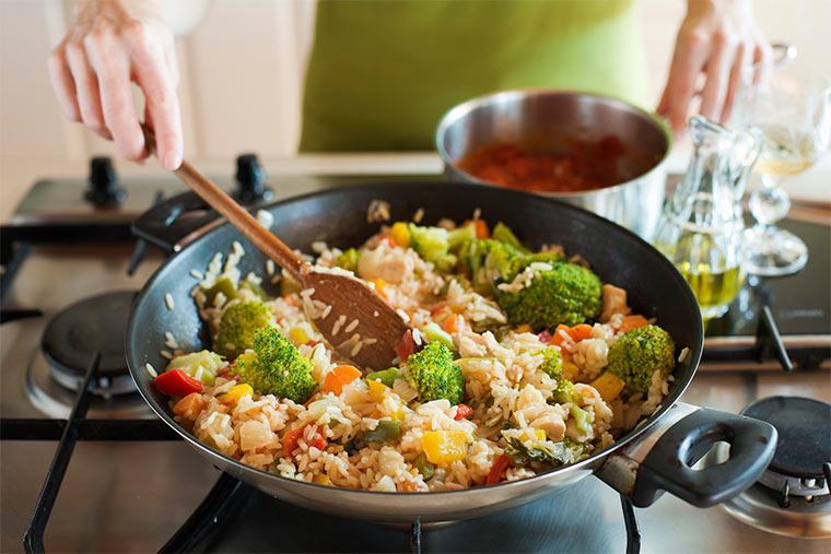 Gemüse Risotto mit Brokkoli