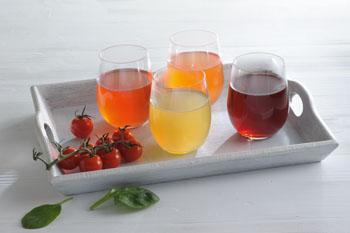 Ob Tomate & Ingwer, Spinat, Rote Bete oder Karotte & Curry, die Gemüsetees haben einen besonderen Geschmack © stick lembke