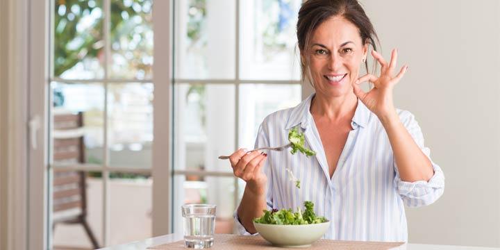 Gesunde Ernährung: Die besten Tipps für Frauen ab 40