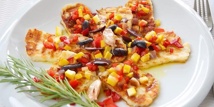 Das Blitzgericht der leichten Mittelmeerküche