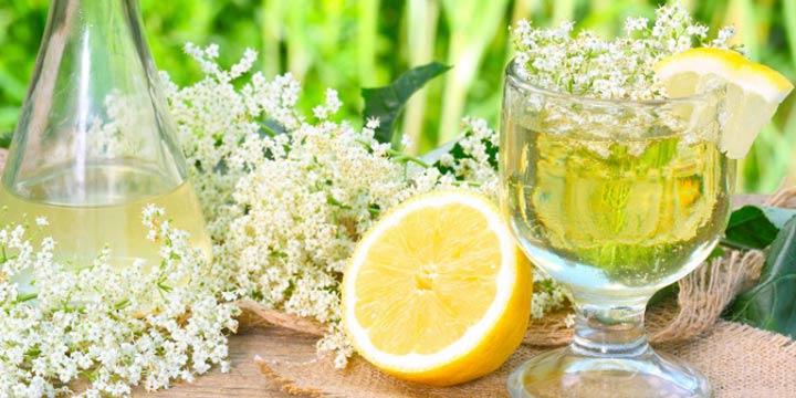 Rezept: Leckere Holunderlimonade einfach selber machen