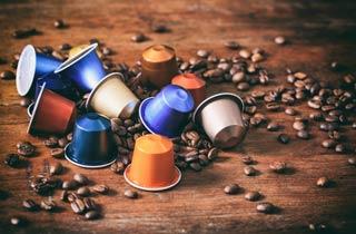 Wiederverwendbare Kaffeekapseln