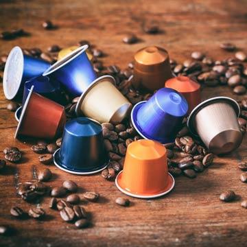 Recyclebare Kaffeekapseln