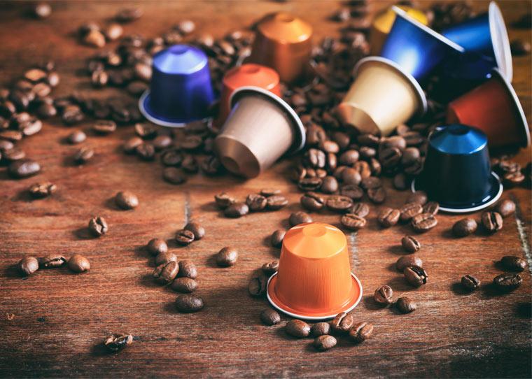 Nachhaltiges Aluminium für Kaffeekapseln