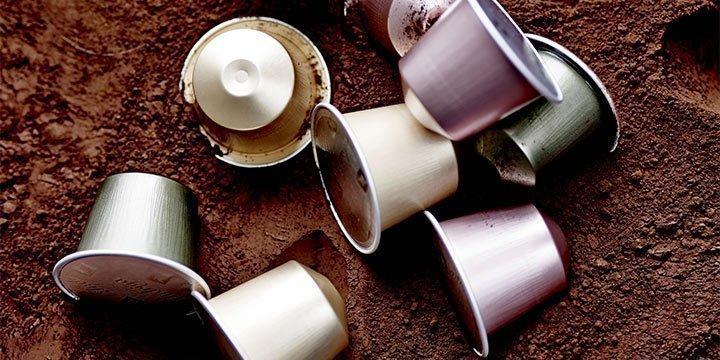 So werden Kaffeekapseln aus Aluminium recycelt