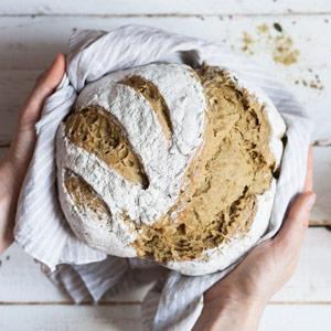 Kürbiskern-Protein-Brot