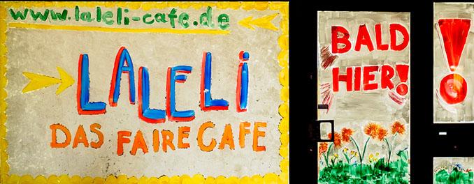 Einmalig in Solingen. Das vegane Café LaLeLi lädt ein © laleli-cafe.de