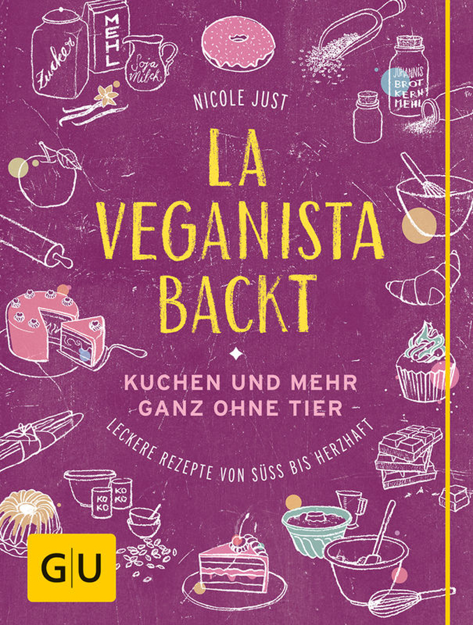 Buchcover La Veganista backt © Verlag Gräfe und Unzer/René Riis