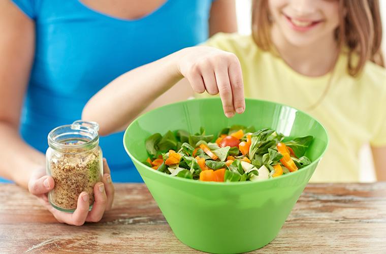 Gewürzmischung für Salate: kinderleichte Zubereitung