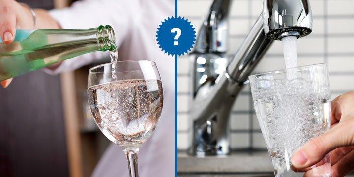 Leitungswasser oder Mineralwasser: Was ist gesünder?