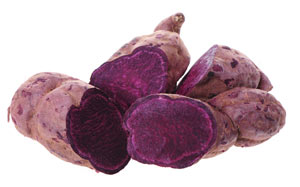 Lila Süßkartoffeln