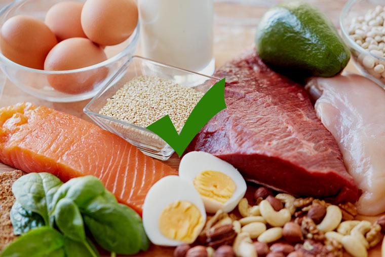 Kohlenhydratarme Lebensmittel