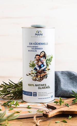 Olivenöl von MANI
