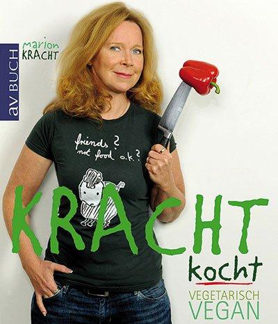 Marion Kracht präsentiert neues Kochbuch