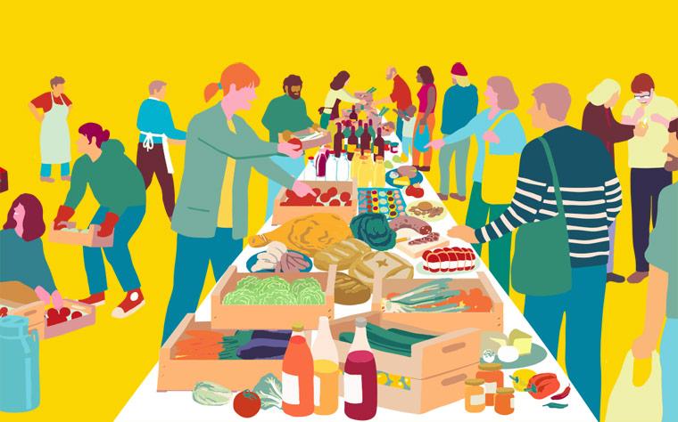 Marktschwärmer – Wenn Gesundes zum Kunden kommt