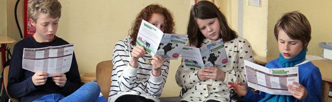Kinder lernen was Tierschutz ist