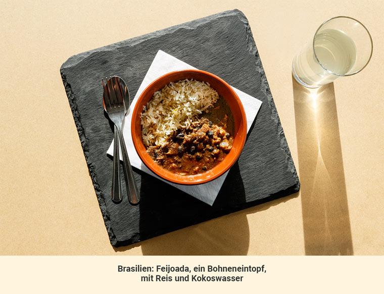 Mittagessen Brasilien