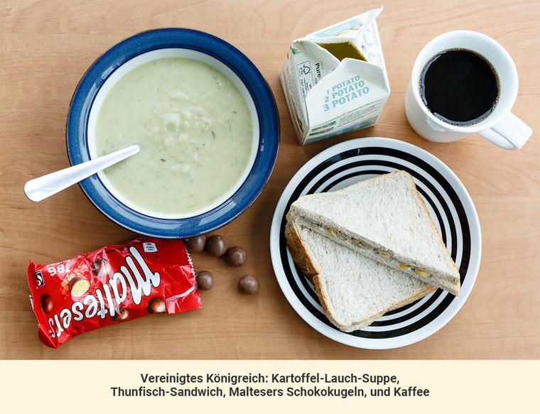 Mittagessen England